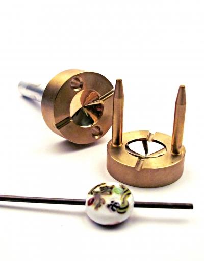 Lentil Brass Press 23 mm