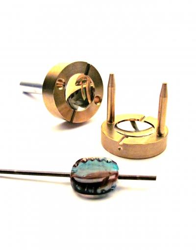 Lentil Brass Press 30 mm