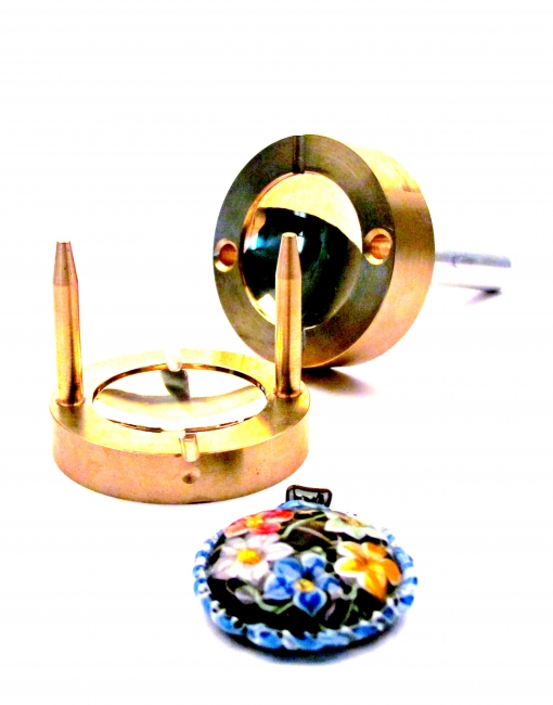 Lentil Brass Press 40 mm