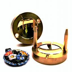 Lentil 40 mm Brass Press