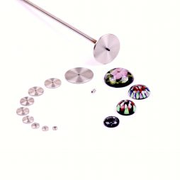 Universal Lampwork Cabochon Mandrels Kit 6-42 mm.