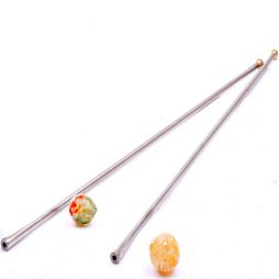 Blowpipe for hollow beads Glassblowing and Lampworking