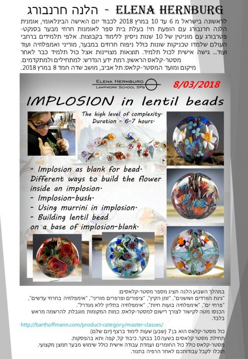 Implosion in Lentil Beads